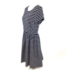 Peter Som for DesigNation Striped Jersey Dress MD